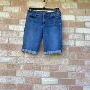 NYDJ Shorts Lift-Tuck Technology Sz 10
